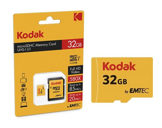کارت حافظه 32 گيگابايت کداک Kodak MicroSDHC