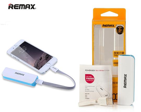 پاوربانک ریمکس مدل REMAX Mini White 2600MAh