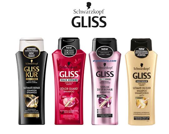 شامپو های شوآرسکوف GLISS