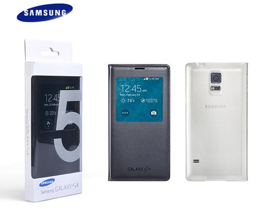 کيف کلاسوری اوريجينال S View Cover Galaxy S5