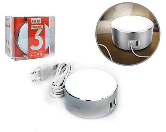لامپ ال ای دی و شارژر LDNIO A2208