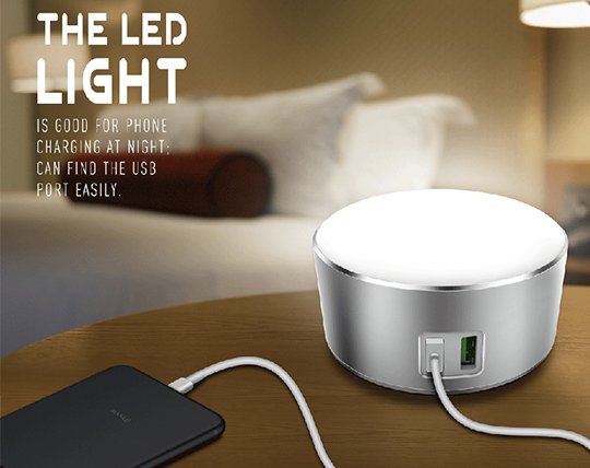 led-lamp-and-ldnio-a2208-charger