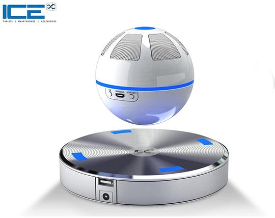 اسپیکر و شارژر بلوتوثی معلق چرخان ICE Orb levitating Bluetooth