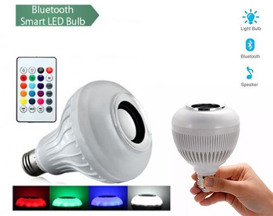 لامپ هوشمند اسپیکردار LED MUSIC BULB