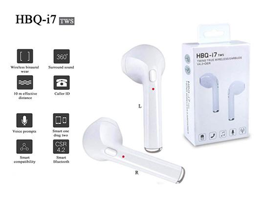 ایرپاد بلوتوثی دو گوشی HBQ I7 TWS