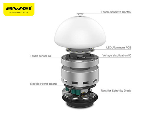 touch-led-and-hub-charging-awei-c910