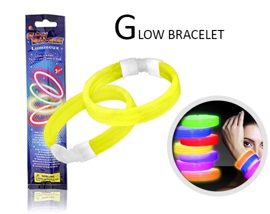 دستبند پهن نورانی GLOW Bracelet