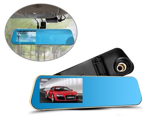 دوربین مدار بسته خودرو با دوربین دنده عقب همزمان
