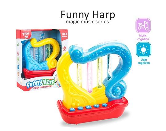 اسباب بازی موزیکال طرح چنگ Funny Harp