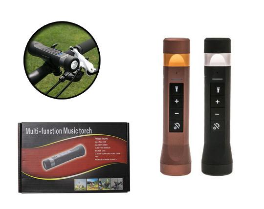 چراغ قوه و اسپیکر شارژی Multi Function Music Torch