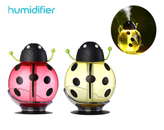 دستگاه بخور USB طرح کفشدوزک Beatle Humidifier