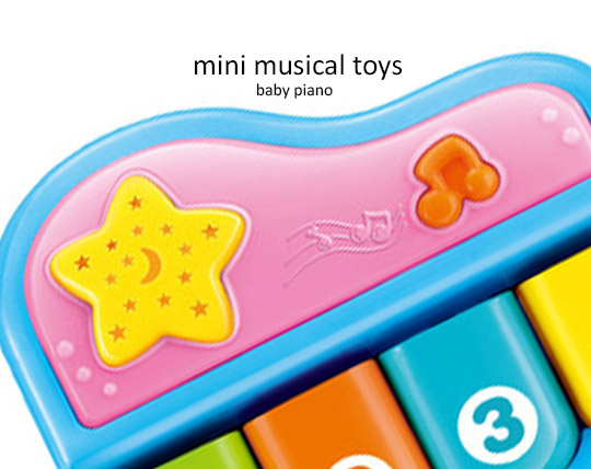 music-piano-and-dancing-of-mini-musical-piano
