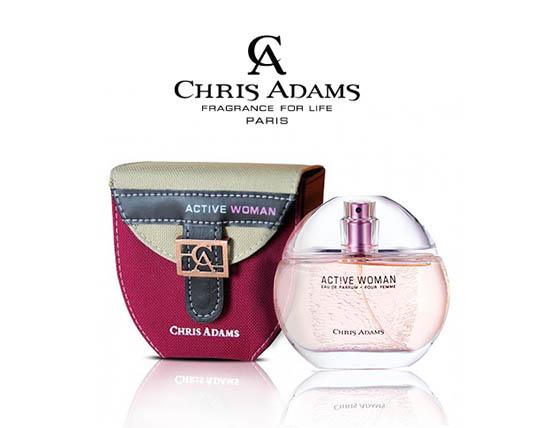 ادکلن زنانه کریس آدامز CHRIS ADAMS Active women