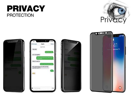 محافظ صفحه نمایش نانو آیفون مدل Privacy Full Glue