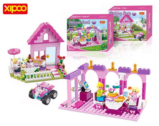 لگو خانه سازی کودکان برند XIPOO
