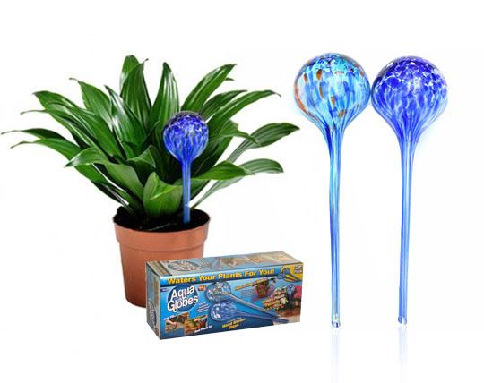 پکیج 2 عددی حباب شیشه ای آبیاری Aqua Globes