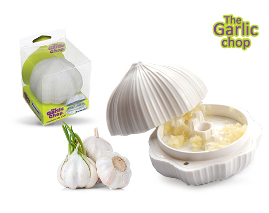 سیر له کن Garlic chop