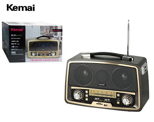 اسپیکر طرح رادیو Kemai 1701BT