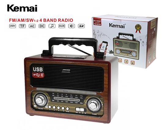 اسپیکر طرح رادیو Kemai 1800BT