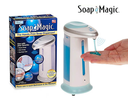 جا مایع سنسوردار SOAP MAGIC