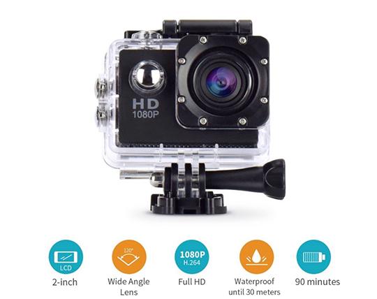 دوربین ورزشی ضد آب Sport Cam 1080P H264