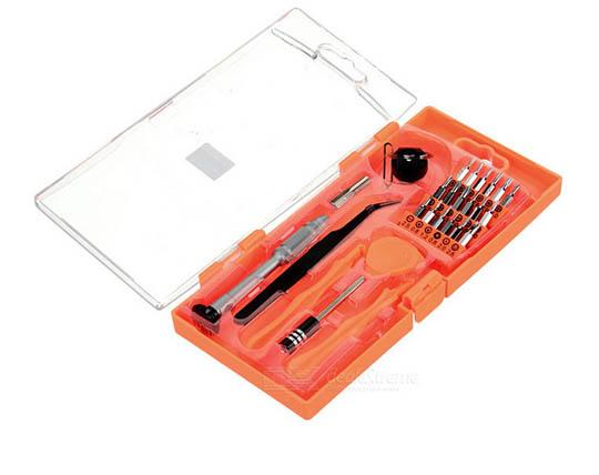 مجموعه ابزار 26 کاره تعمیرات موبایل Jakemy JM8141