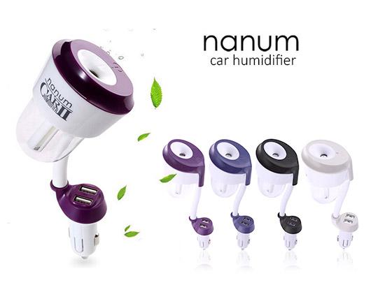 بخور فندکی و خوشبو کننده خودرو NANUM