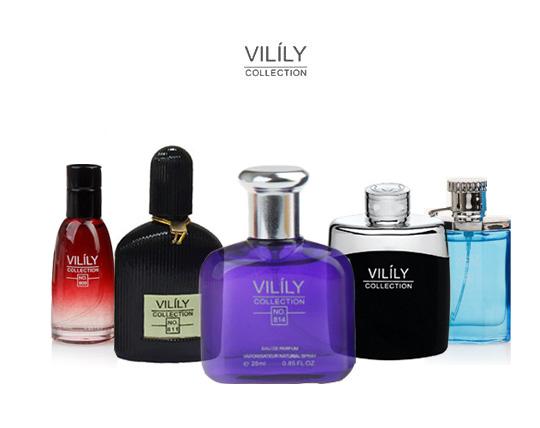 کلکسیونی عطر های مردانه مینیاتوری VILILY