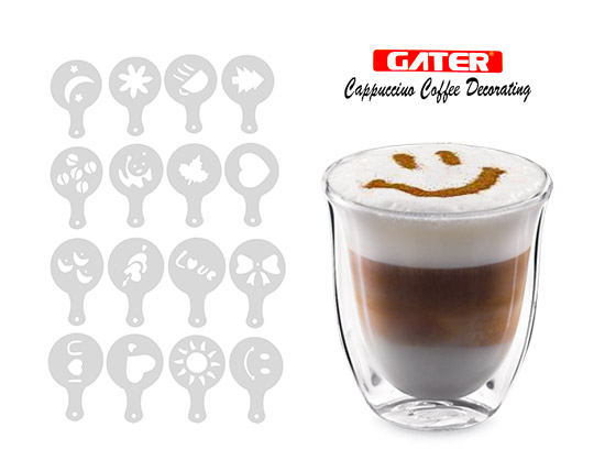 16pcs-coffee-latte-cappuccino-barista-art-stencils
