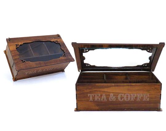 باکس تی بگ ۴ خانه چوبی