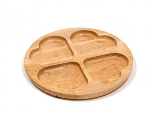 4-pcs-heart-shaped-bamboo-serving-dish