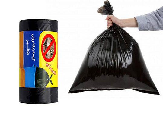 کیسه زباله رولی 400 گرمی