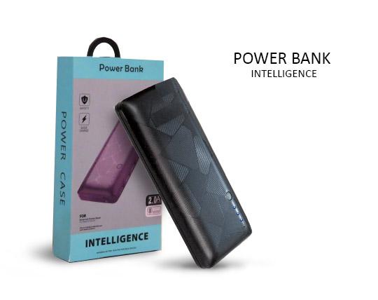 پاوربانک 3 پورت 50000 برند Intelligence