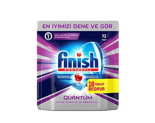 قرص ماشین ظرفشویی 72 تکه Finish
