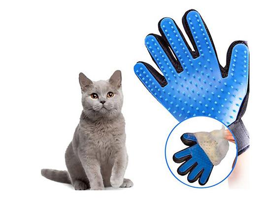 دستکش پرزگیر موی حیوانات