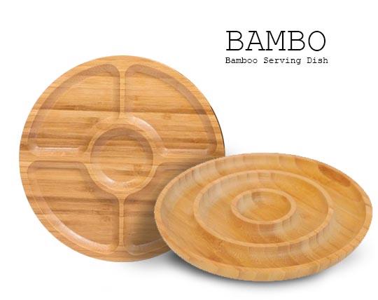 اردورخوری بامبو BAMBO SERVING DISH
