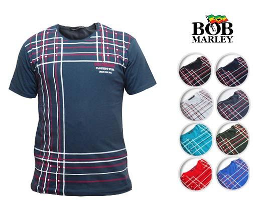 تیشرت آستین کوتاه مردانه BOB MARLEY