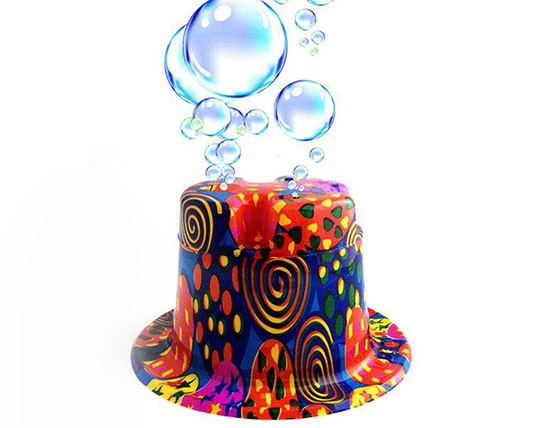 کلاه حباب ساز جادویی