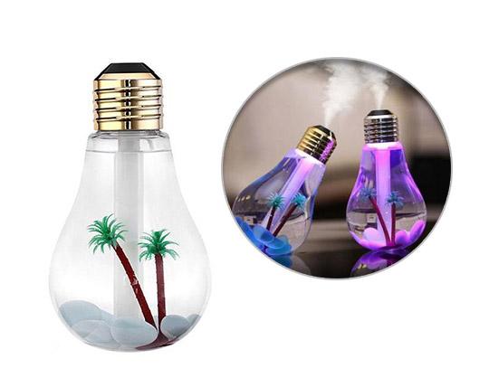 بخور سرد طرح لامپ Bulb humidifier