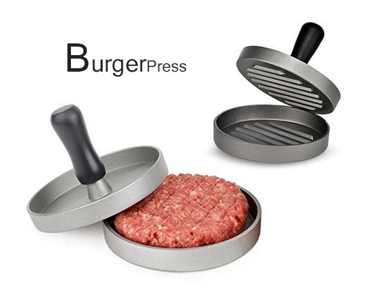همبرگر ساز خانگی فلزی