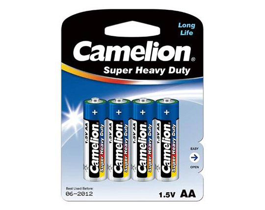 پکیج 4 عددی باتری قلم و نیم قلم Camelion