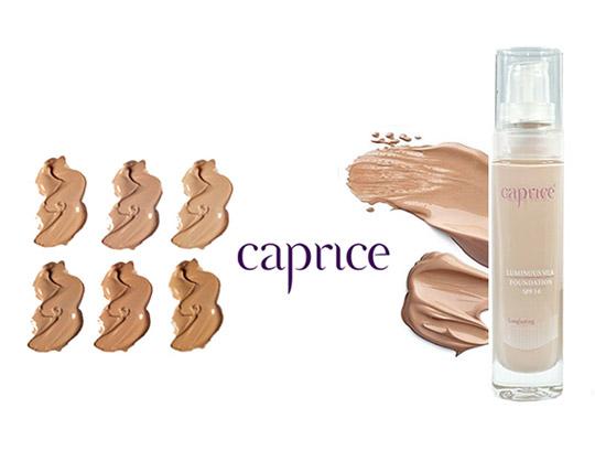 کرم پودر ضد آب با دوام Caprice