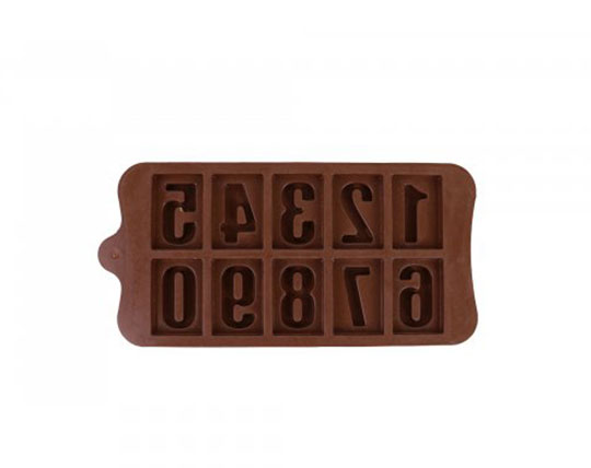 chocolate-silicone-numbers