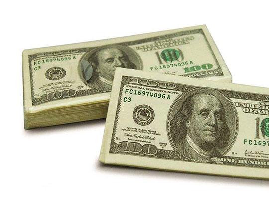 dollar-shaped-tissue