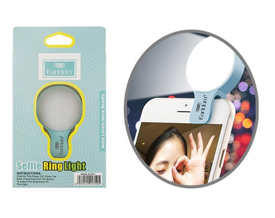 فلش سلفی Earldom Selfie Ring Light