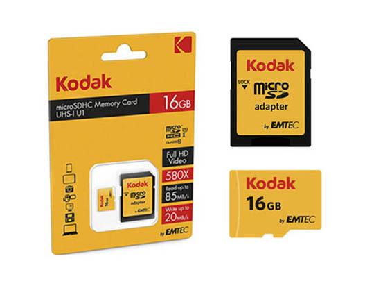 کارت حافظه Emtec Kodak microSDHC 16GB