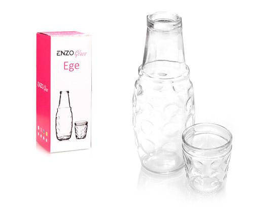 پارچ و لیوان شیشه ای Enzo