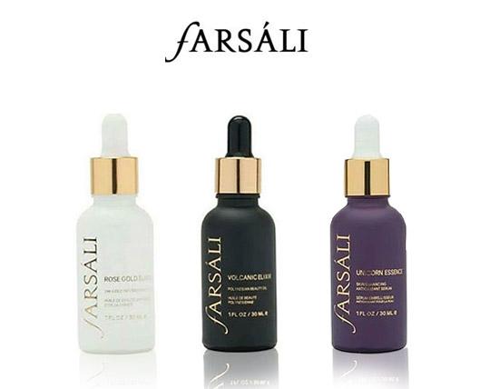اکسیر مراقبت پوست فارسالی در 3 مدل Farsali Elixir