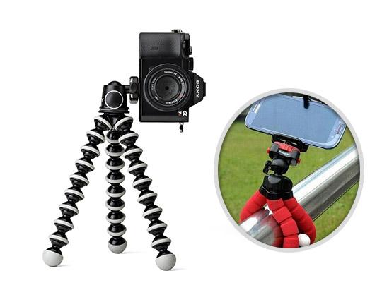 سه پایه عکاسی موبایل و دوربین دیجیتال