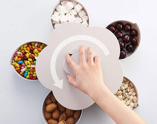 flower-shaped-rotating-serving-dish